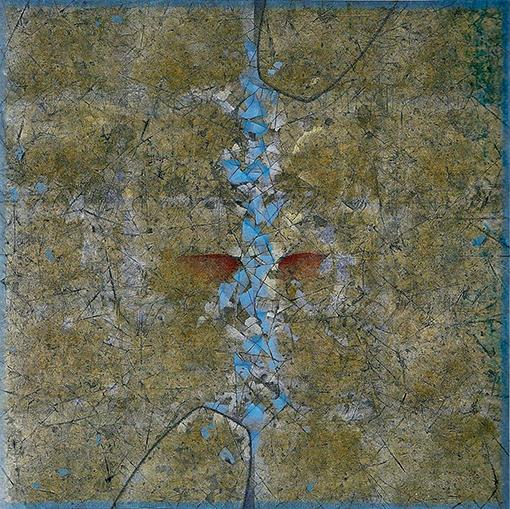 A PIERO DELLA FRANCESCA XX. 2002. 115 X 115 cm